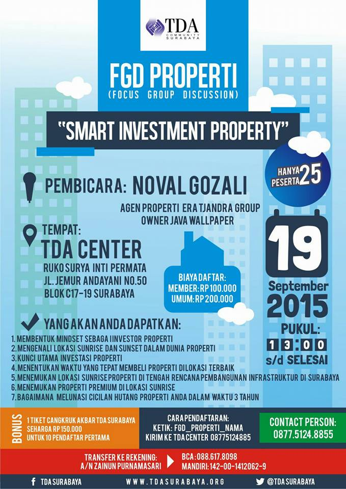 Focus Group Discussion – Smart Investment Property