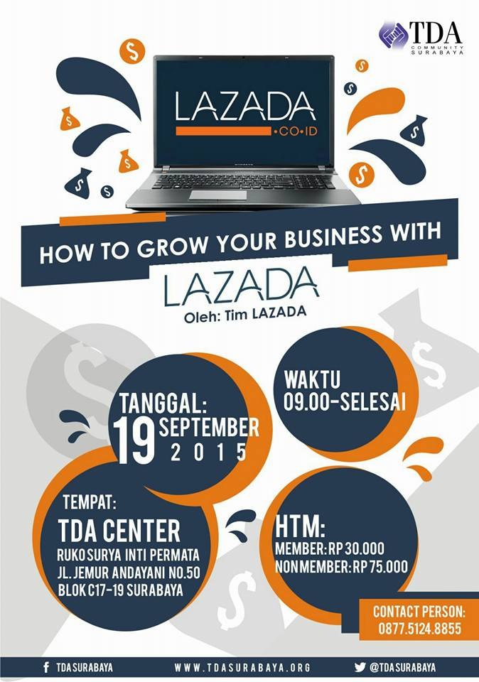 TDA Class – How to Grow Your Business with Lazada