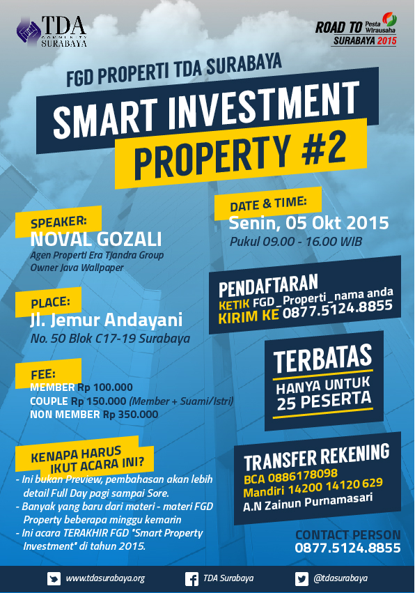 Focus Group Discussion – Smart Investment Property Part 2