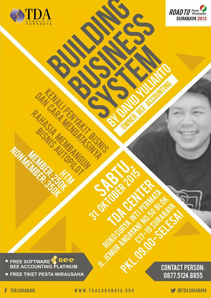 TDA Class – Building Business System
