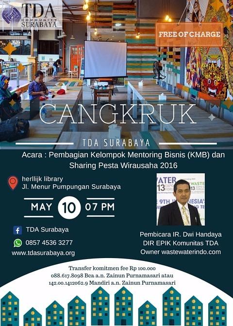 Cangkruk TDA Surabaya