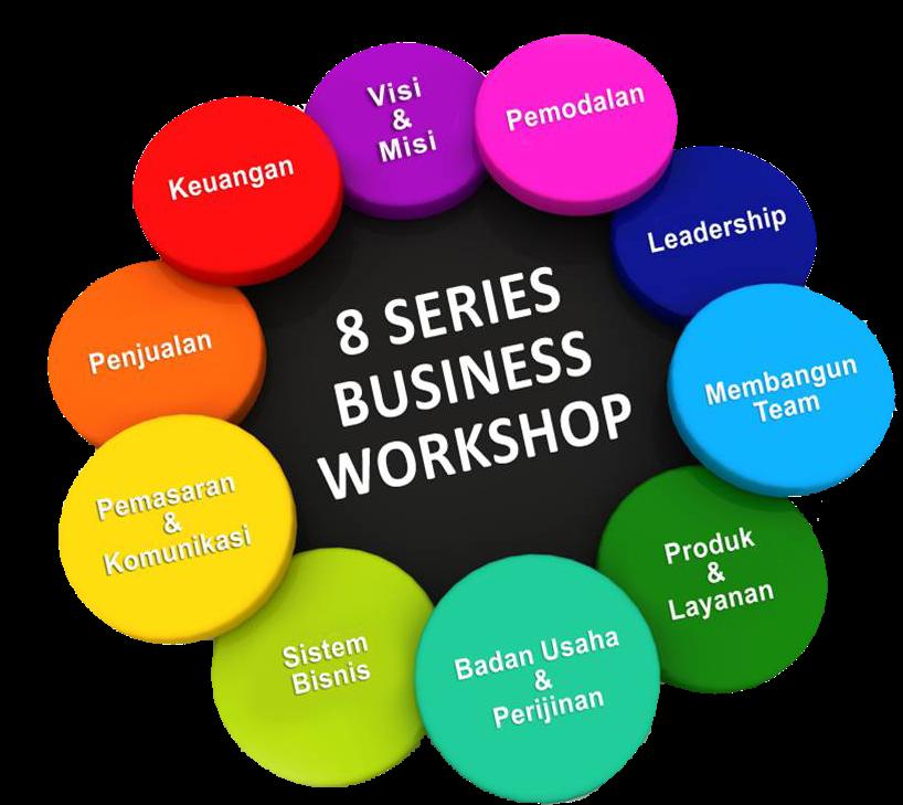 """8 Workshop Series """"Rahasia Scale Up Bisnis melalui Permodalan dan Visi Misi"""""""