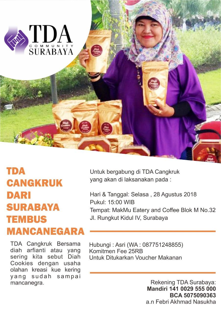 TDA Cangkruk Dari Surabaya Tembus Mancanegara