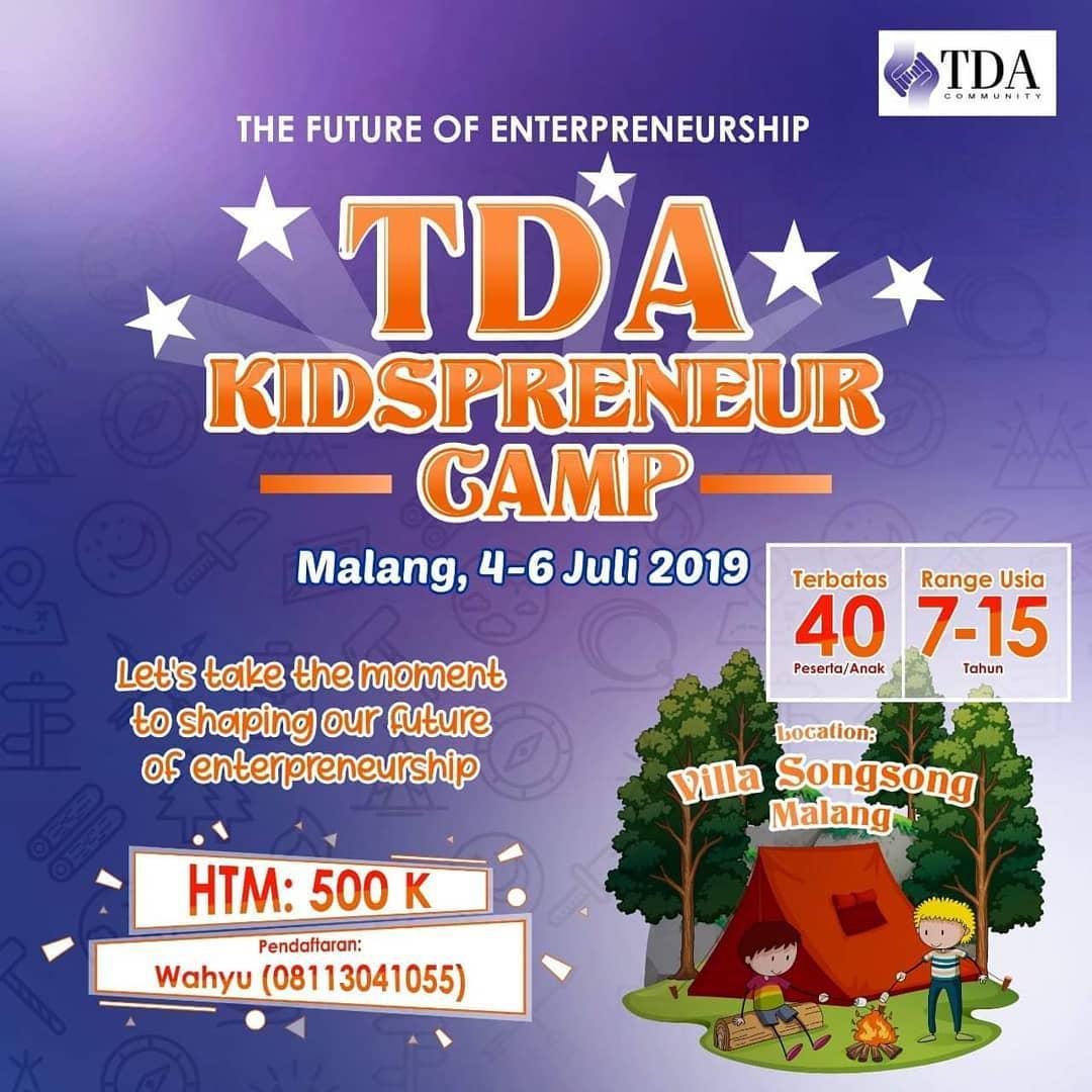 TDA KidzPreneur Camp