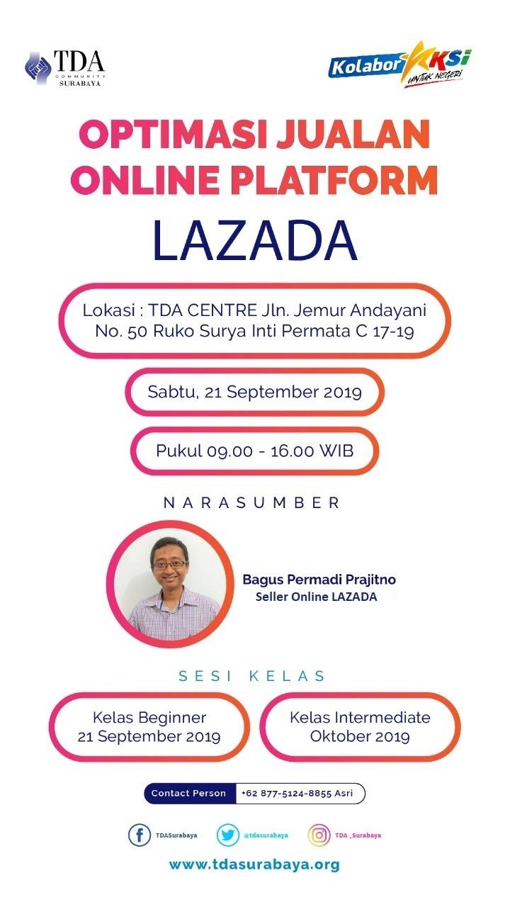 Workshop LAZADA