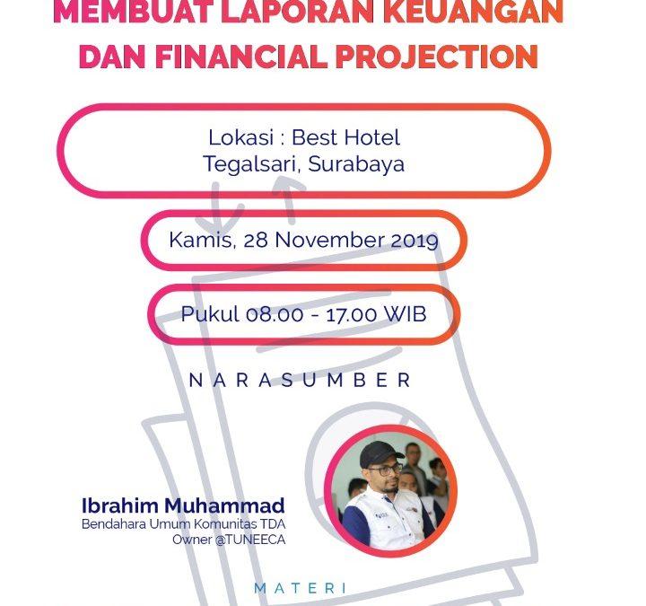 Workshop membuat laporan keuangan & Financial Projection