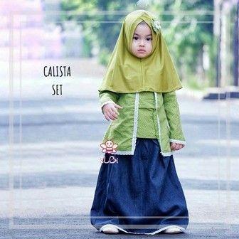 Baju Muslim Balita ElBi