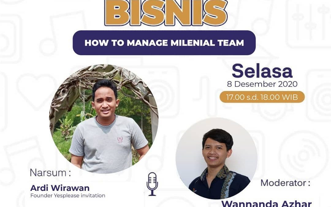 HOW TO MANAGE MILENIAL TEAM