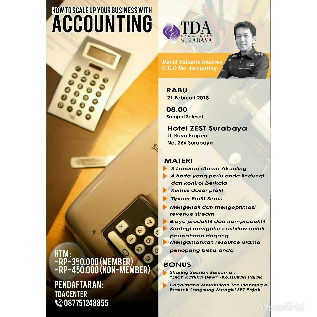 """"""" How to Scale Up Your Business with Accounting"""""""