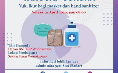 TDA Peduli Tebar Nasi Bungkus 21 April 2020