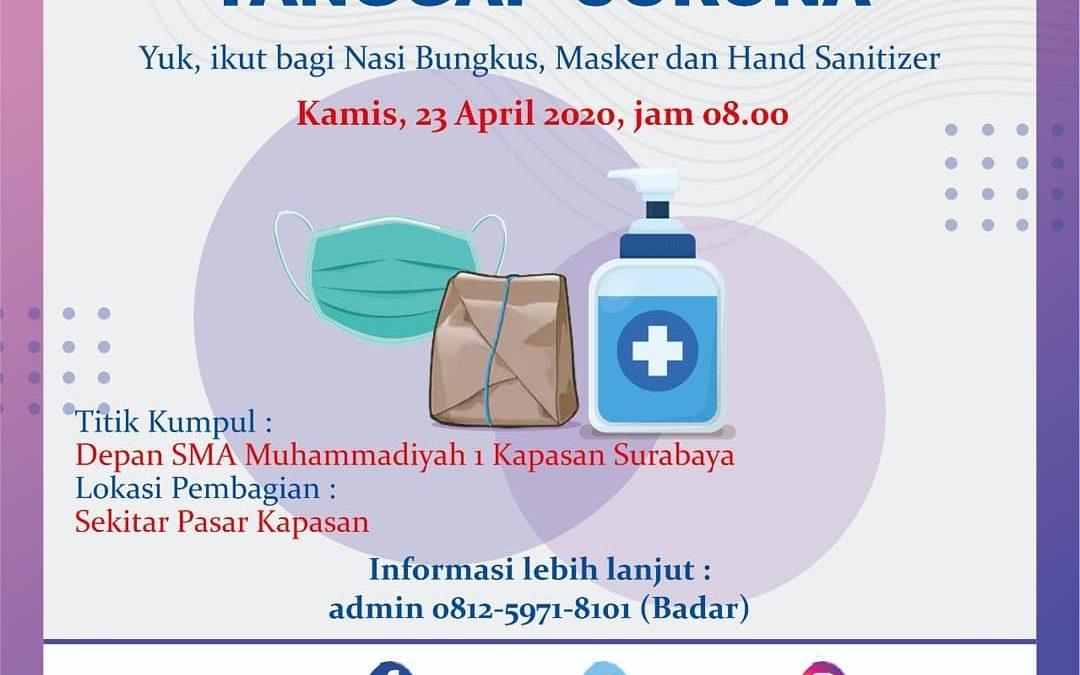 TDA Peduli Tebar Nasi Bungkus 23 April 2020
