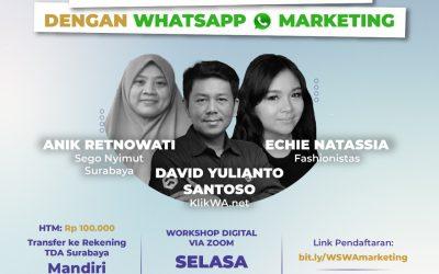 Workshop Digital Whatsapp Marketing