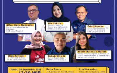 Launching KMB TDA Surabaya Season 1